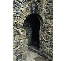 Cubicle in lavatory Ruins of abbey Rievaulx North Yorkshire England 19840602 0077 Photographic Print