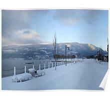 Okanogan Lake Winter 2008 Poster