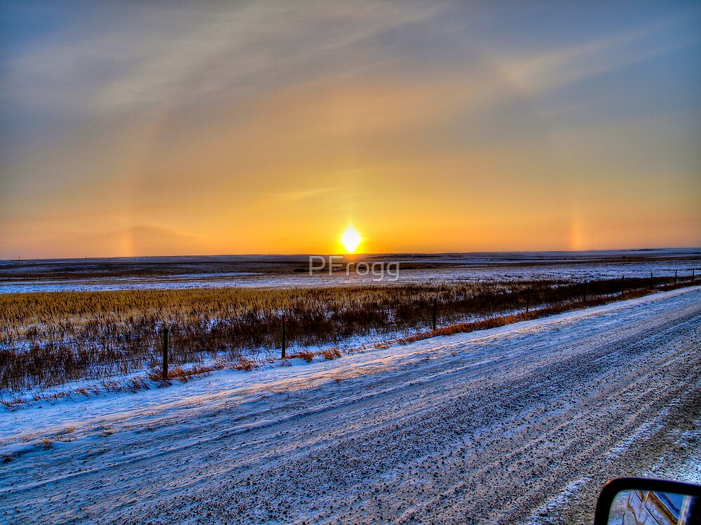 Minus 30 on The Prairie by PFrogg