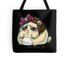 Sad kawaii hamsterpuff Tote Bag