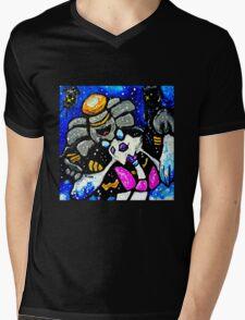 froslass and dusknoir  Mens V-Neck T-Shirt