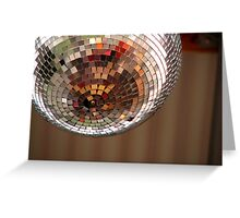 disco color Greeting Card