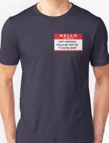SuperNatural Castiel Quote T-Shirt