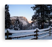 Frosted Layer Cake Canvas Print