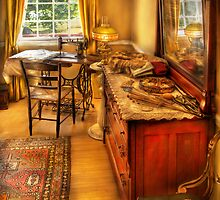 The Sewing Room by Mike  Savad