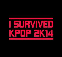 I SURVIVED KPOP 2K14 - BLACK by Kpop Seoul Shop