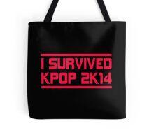 I SURVIVED KPOP 2K14 - BLACK Tote Bag