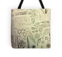 Science inspired sheets Tote Bag