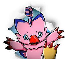 Digimon 15th Anniversary - Biyomon by JJJericho