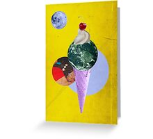 Color Chaos Collection -- Earth Cone Greeting Card