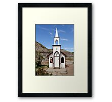 The Little Church Framed Print