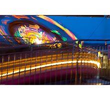 Nighttime Rides Photographic Print