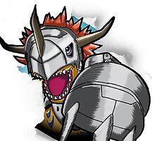Digimon 15th Anniversary - Metalgreymon by JJJericho