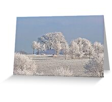 Winter in Canada Greeting Card