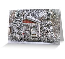 """Private Property""  Welcome Home Series Greeting Card"