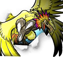Digimon 15th Anniversary - Phoenixmon by JJJericho