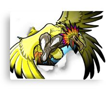 Digimon 15th Anniversary - Phoenixmon Canvas Print