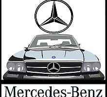 Mercedes-Benz 560SL logo by Rorymacve