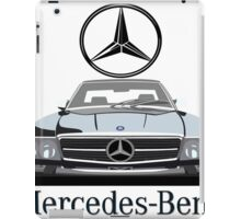 Mercedes-Benz 560SL logo iPad Case/Skin