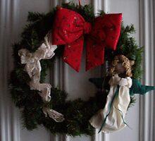 Christmas wreath by ArtBee