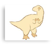 Feathery Dinosaurs - Fluffy T-Rex Canvas Print