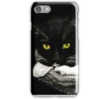 Cat Etiquette  iPhone Case/Skin