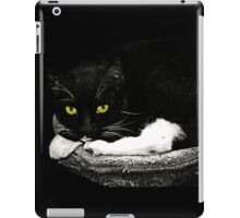 Cat Etiquette  iPad Case/Skin
