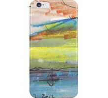 LONE SAIL(C2012) iPhone Case/Skin