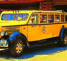 Yellowstone Public Transit by Bob Moore