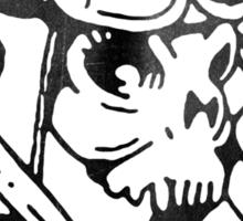 Piston Head. Sticker