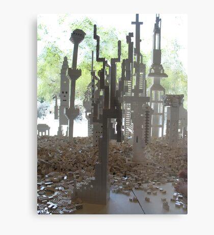 National Gallery Window V Metal Print