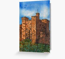243 - THE KEEP, NEWCASTLE UPON TYNE - DAVE EDWARDS - INK & WATERCOLOUR - 2008 Greeting Card