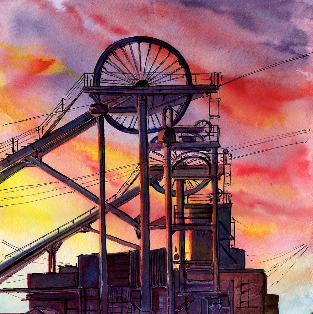 End of an Era: Miners' Requiem by Maureen Whittaker