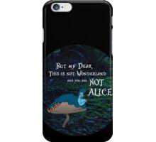 NOT ALICE iPhone Case/Skin