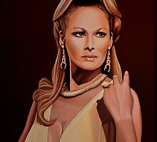 Ursula Andress painting by PaulMeijering