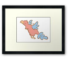 Feathery Dinosaurs - Archaeopteryx Framed Print