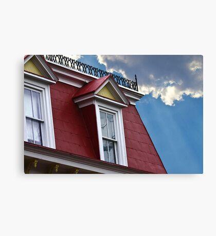 Historic Homes Canvas Print
