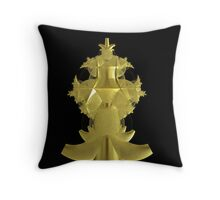 Incendia -- Sacred Gold Collection -- Wizard's Staff Head Throw Pillow
