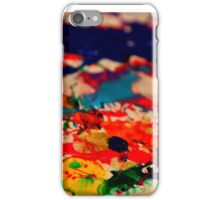 Color Puddles iPhone Case/Skin