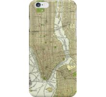 New York Vintage Map iPhone Case/Skin