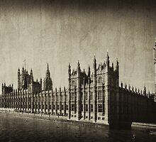 London Landmarks I by Sue Wickham