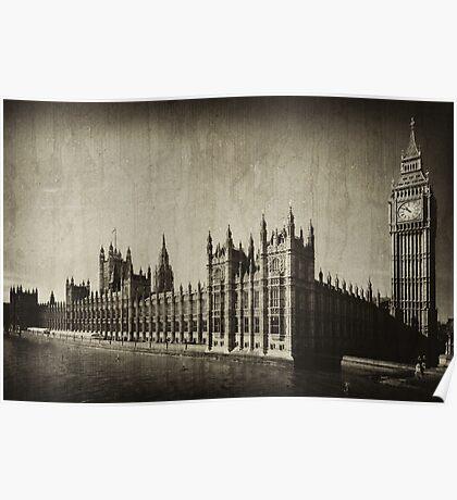 London Landmarks I Poster