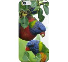 Pear feast iPhone Case/Skin