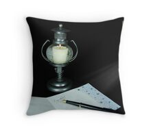 Lonely Letter To Home Throw Pillow