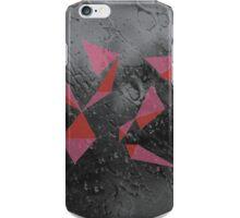 Geometric raindrops iPhone Case/Skin