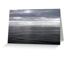 Tranquil Seas Greeting Card