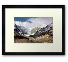 The Columbia Icefields Framed Print