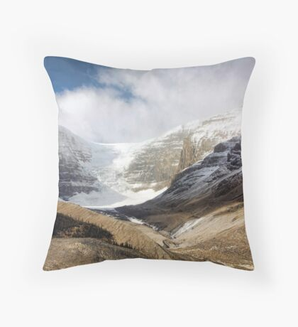 The Columbia Icefields Throw Pillow