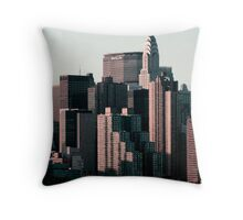 New Yorker Throw Pillow