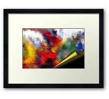 From The Painting Easel #1 Framed Print